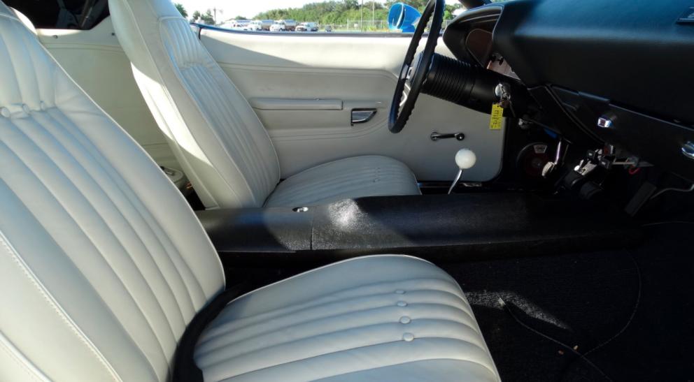 1970 Plymouth Barracuda Custom Convertible interior