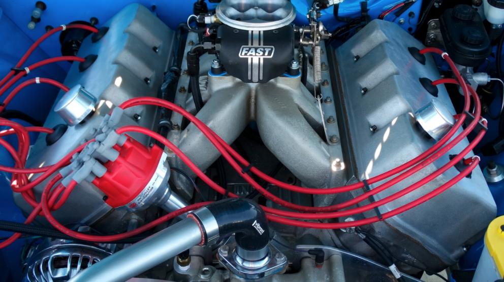 1970 Plymouth Barracuda Custom Convertible engine
