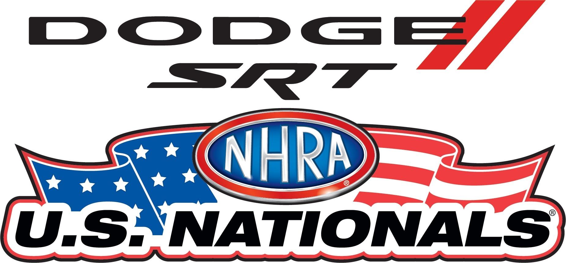 Dodge SRT NHRA US Nationals logo