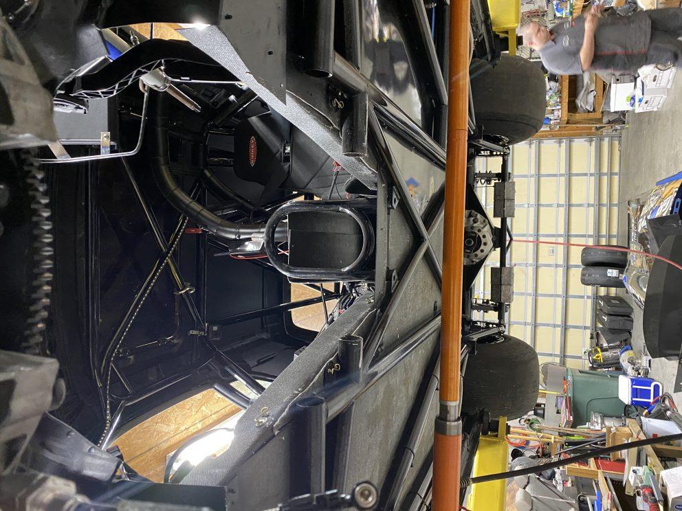 Underside of Dodge Challenger