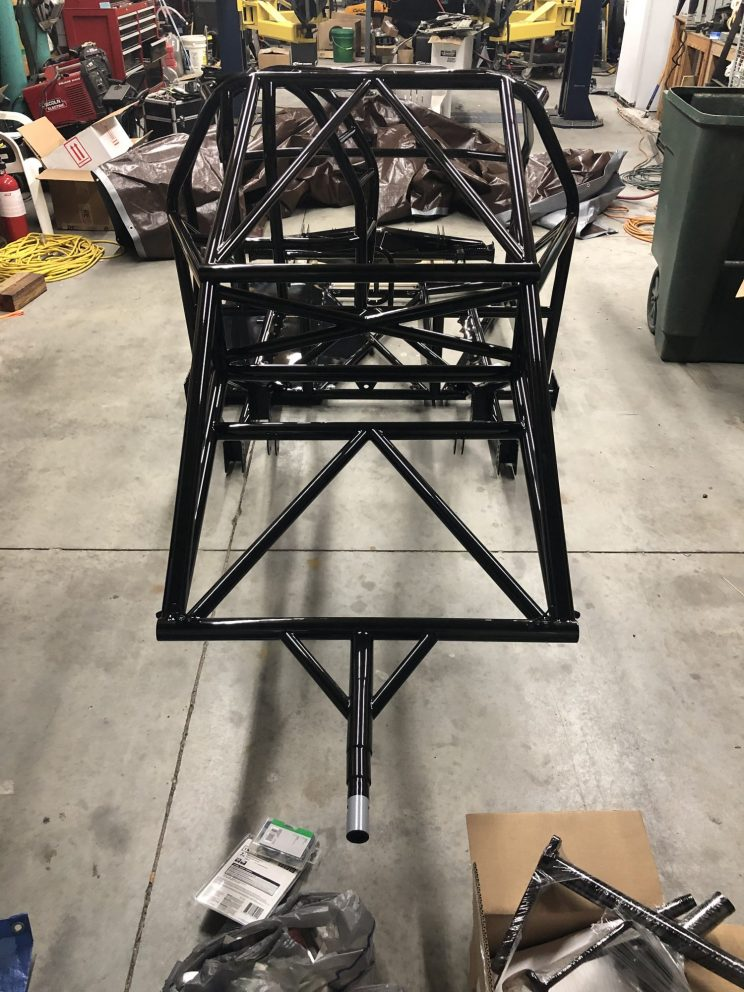 Dodge Challenger roll cage