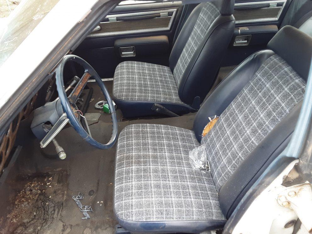 1981 Plymouth Gran Fury Police Pursuit interior
