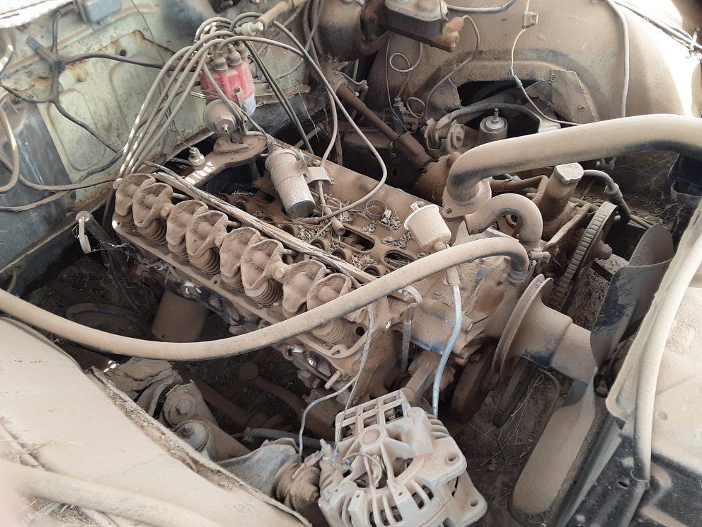 1969 Plymouth Fury III Convertible engine