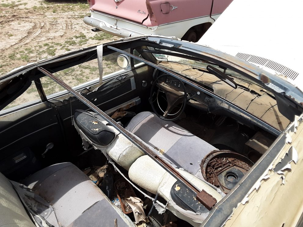 1969 Plymouth Fury III Convertible interior