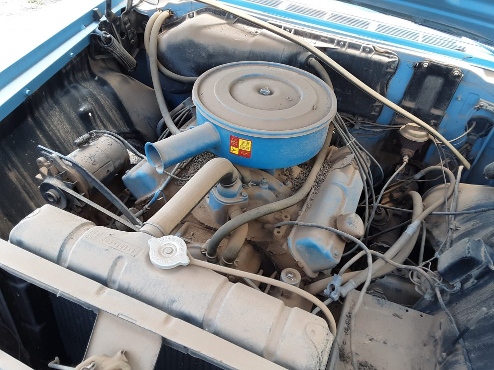 1960 Plymouth Belvedere engine