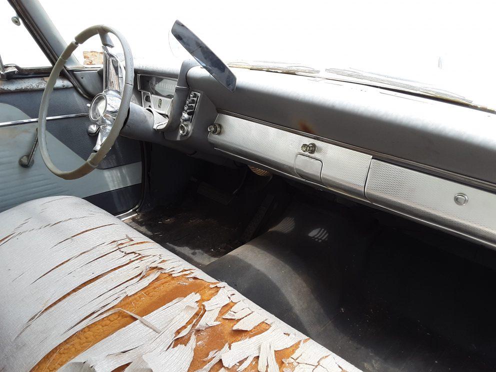 1959 Plymouth Belvedere interior
