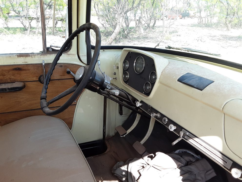 1960 Dodge D100 Pickup interior