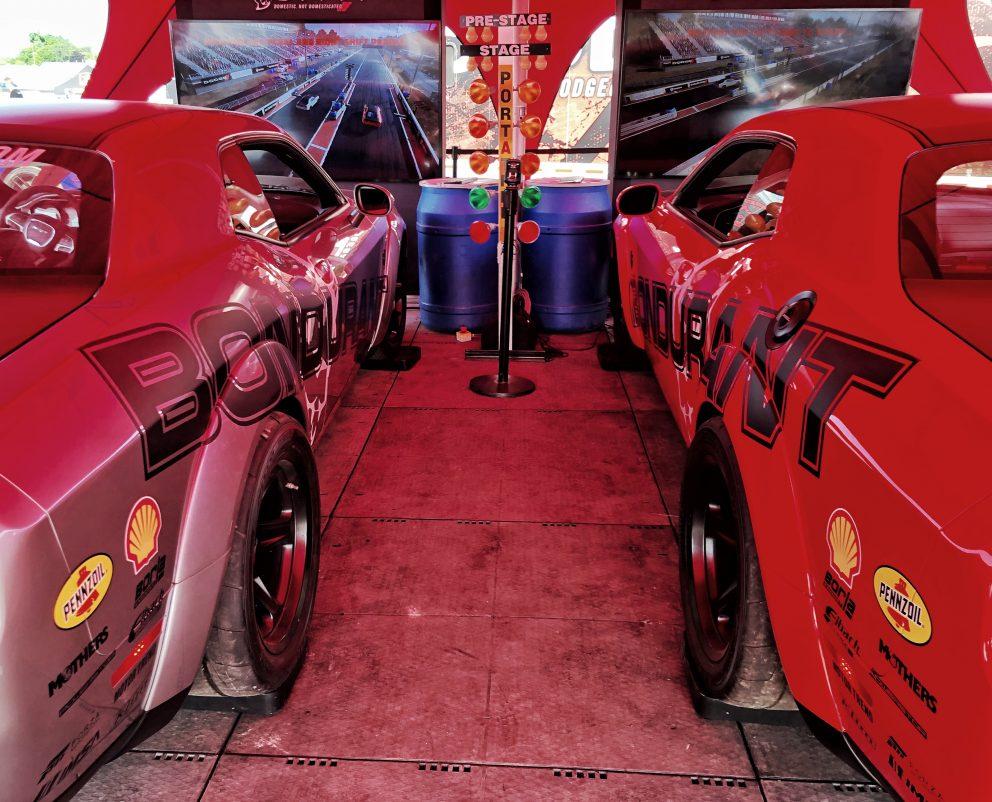 Dodge SRT Demon simulators