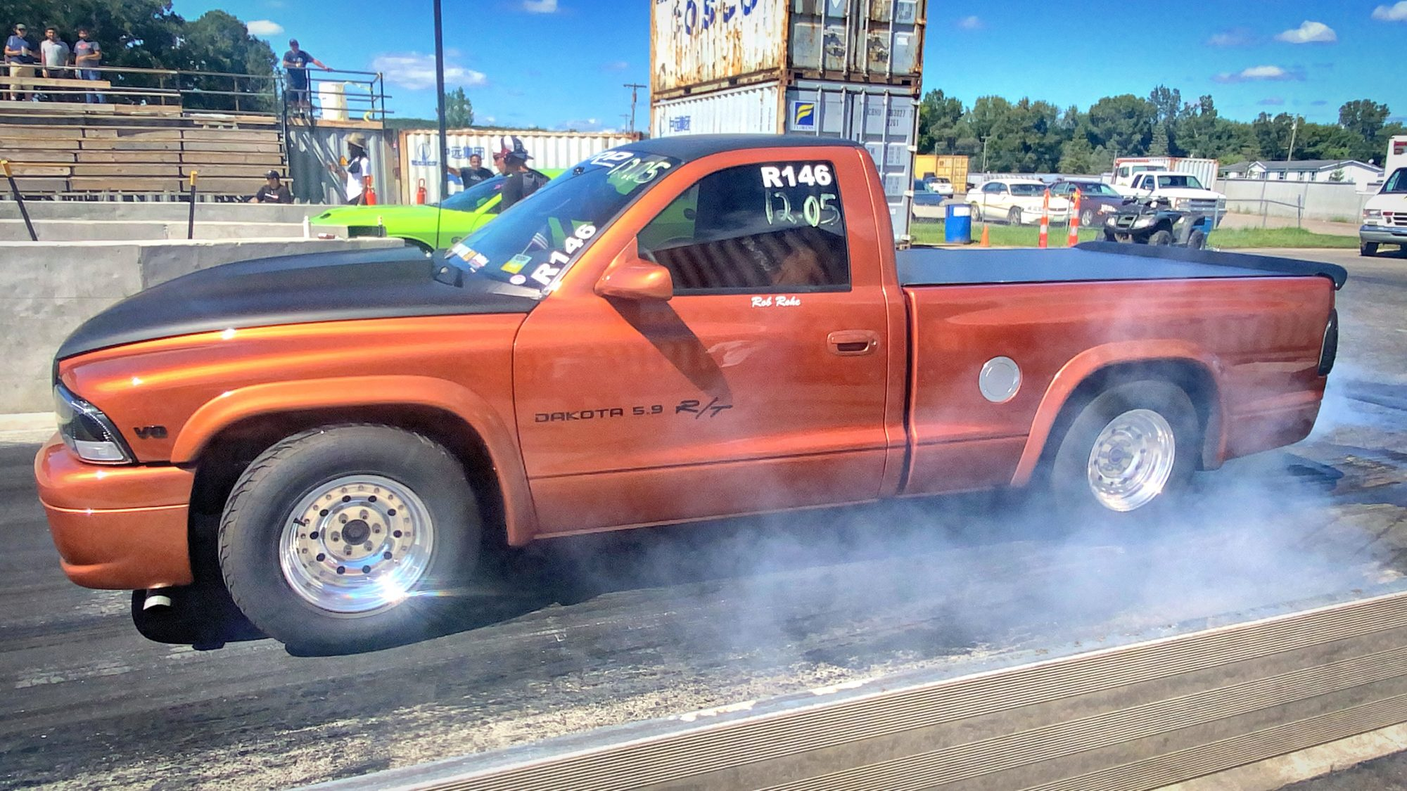 Dodge Dakota drag racing