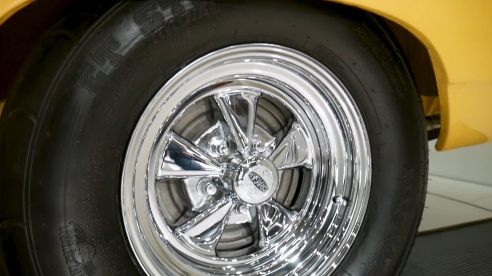1969 Plymouth Road Runner Restomod wheel and tire