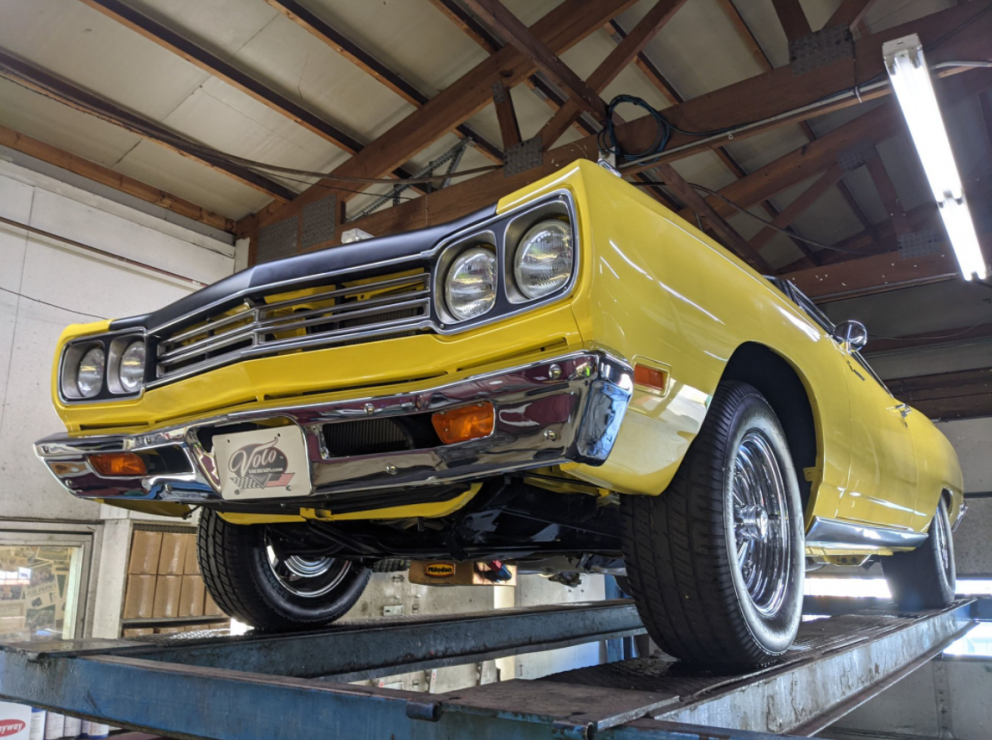1969 Plymouth Road Runner Restomod front end
