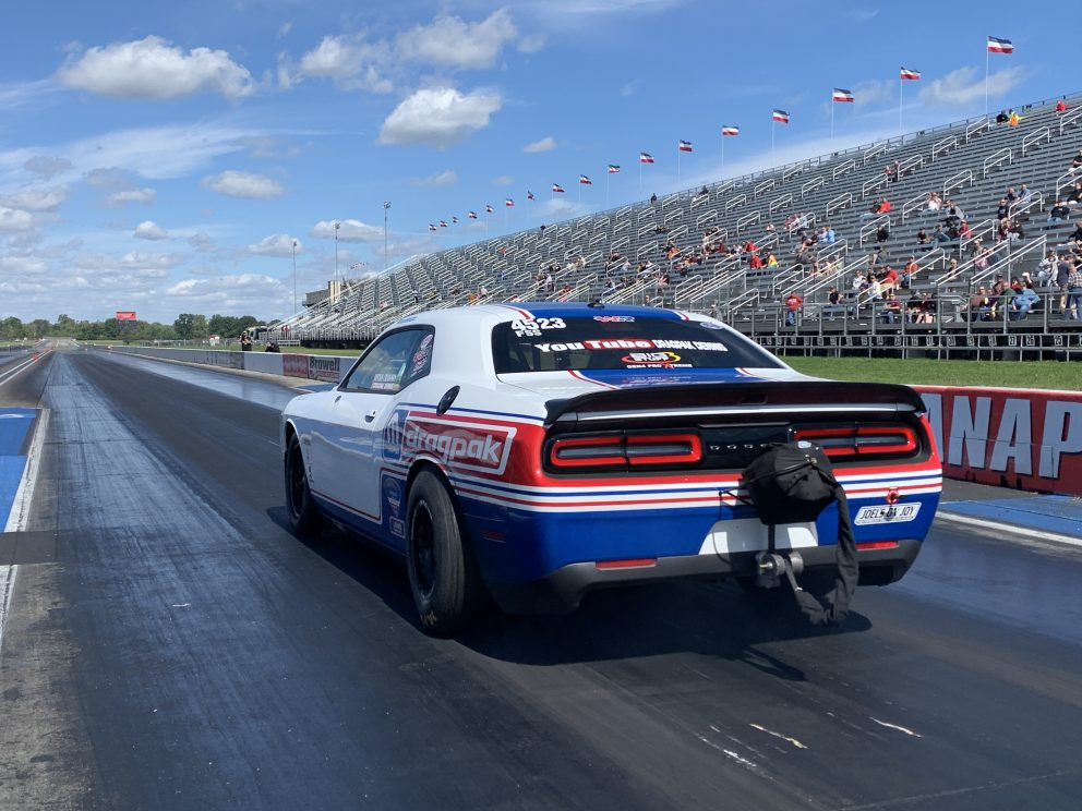 Drag Pak getting ready to race