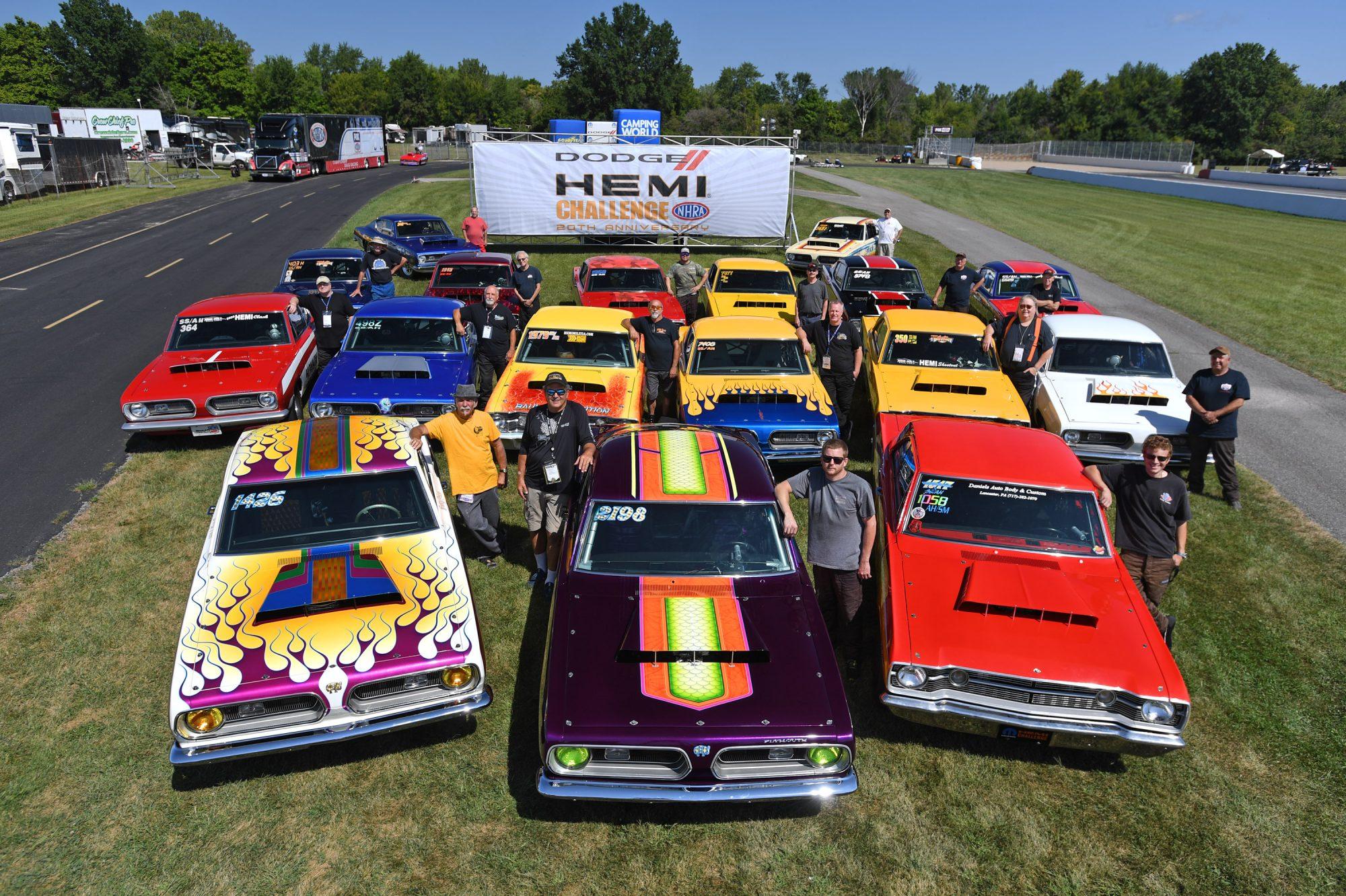 HEMI Challenge cars