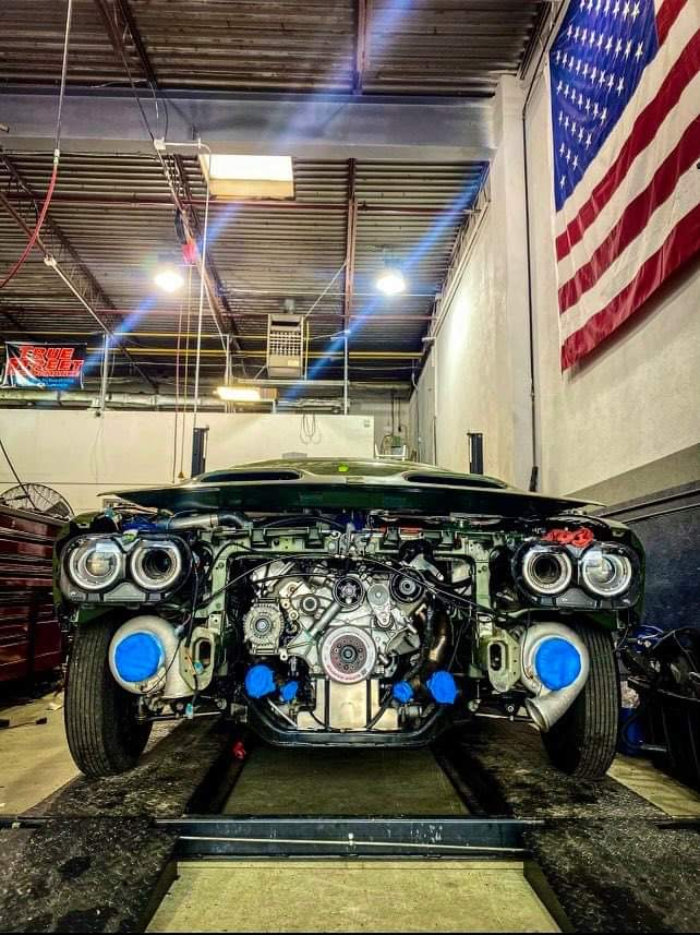 Front end of a Challenger