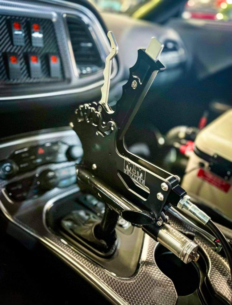 Gear shifter in a Challenger