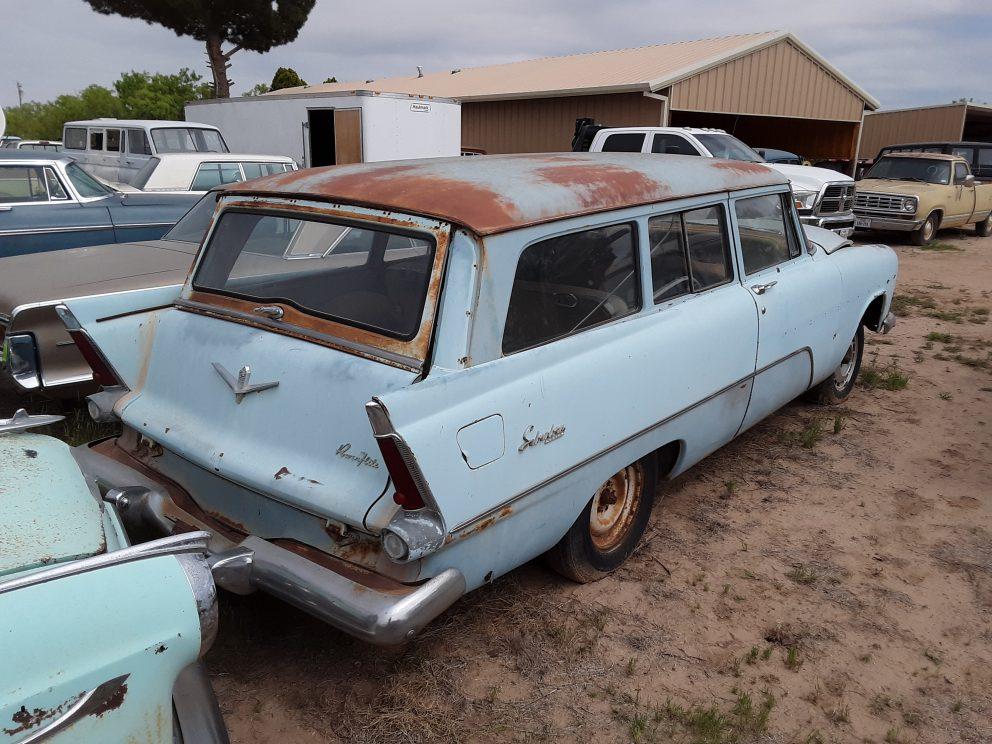 1956 Plymouth Savoy Custom Suburban