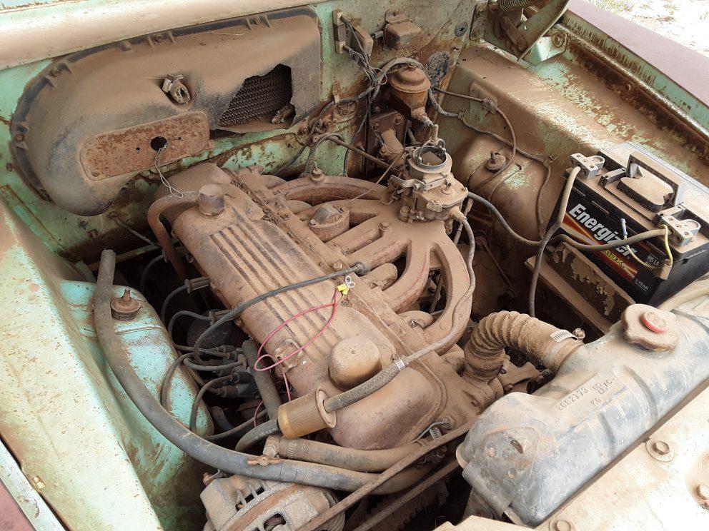 1961 Plymouth Valiant Station Wagon engine