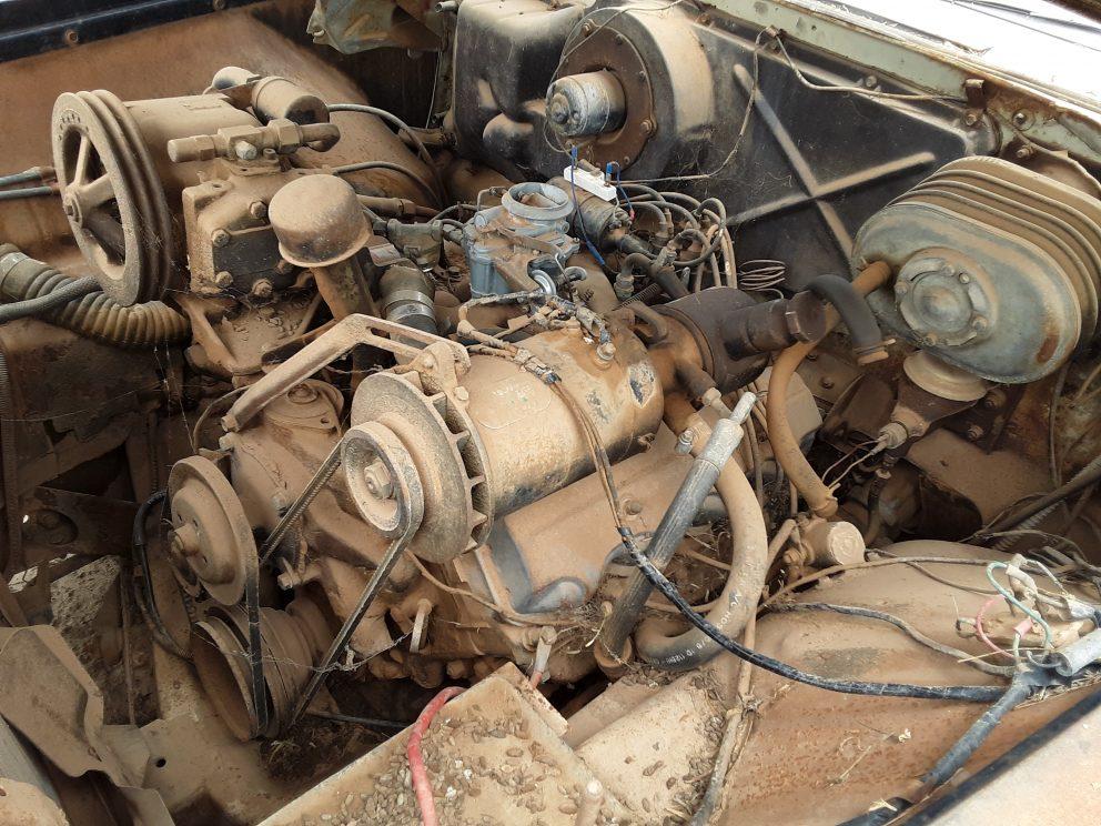 1956 Dodge Coronet Texan engine