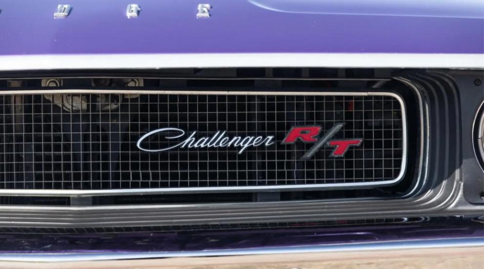 1970 Dodge Challenger R/T badging