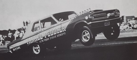 Pages from the Past: Peddling the Only Sedan Funny Car