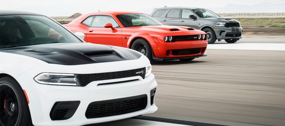 dodge charger, challenger and durango line up for top jd power apeal study