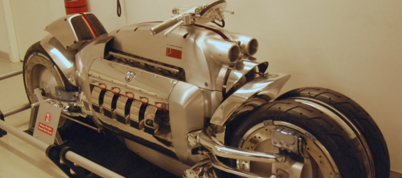 Dodge-powered motorcycle
