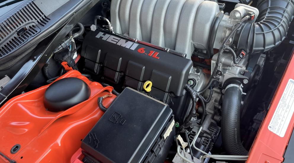 2008 Dodge Challenger SRT-8 Inaugural Edition engine