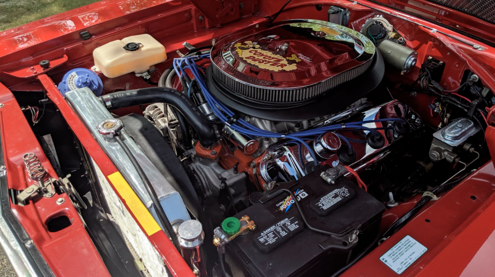 1969 Plymouth Satellite Convertible engine