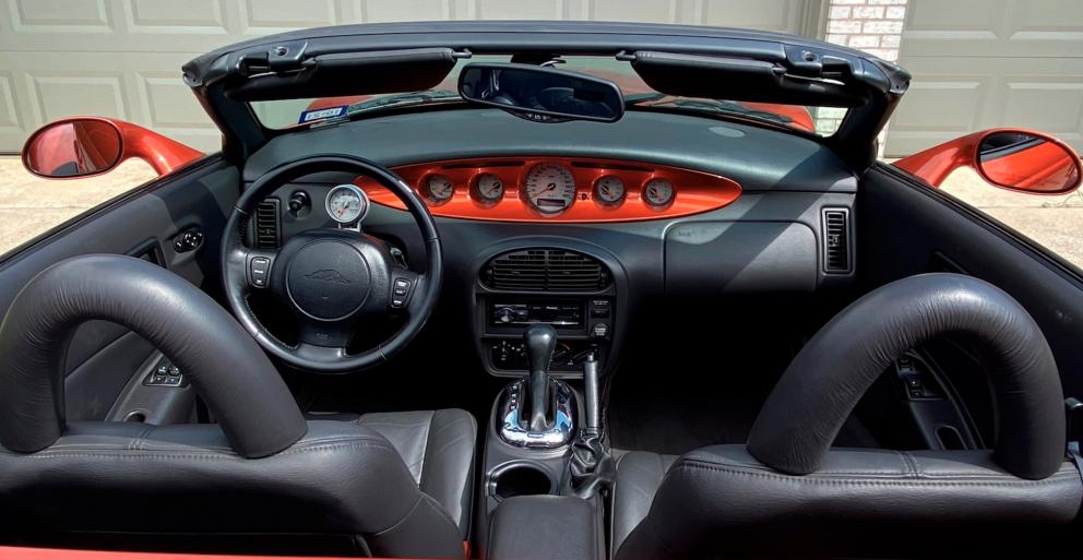 2001 Plymouth Prowler interior