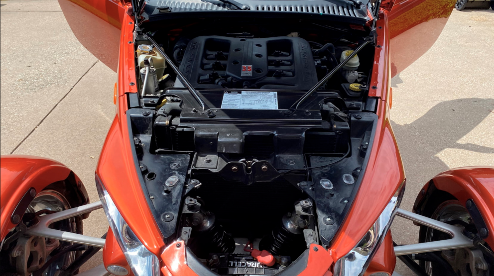 2001 Plymouth Prowler engine