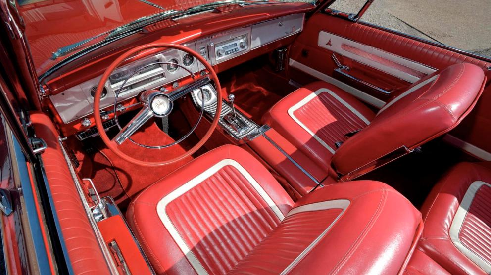 1964 Dodge Polara 500 Convertible interior