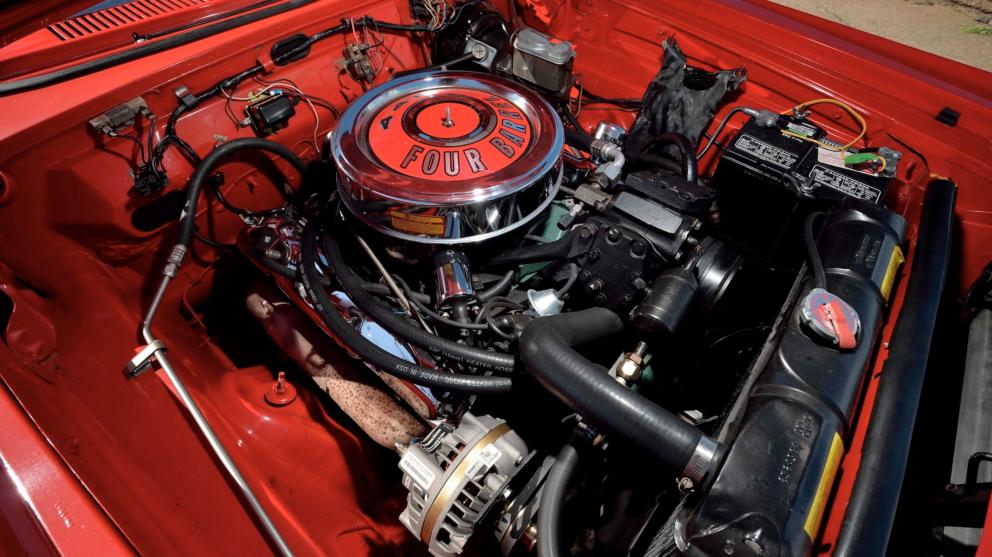 1964 Dodge Polara 500 Convertible engine