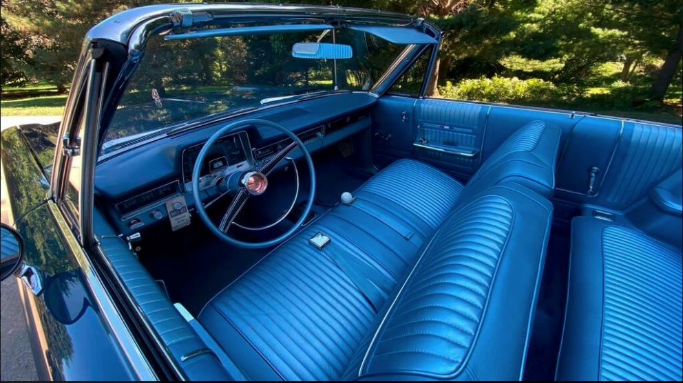 1965 Plymouth Fury III Convertible interior