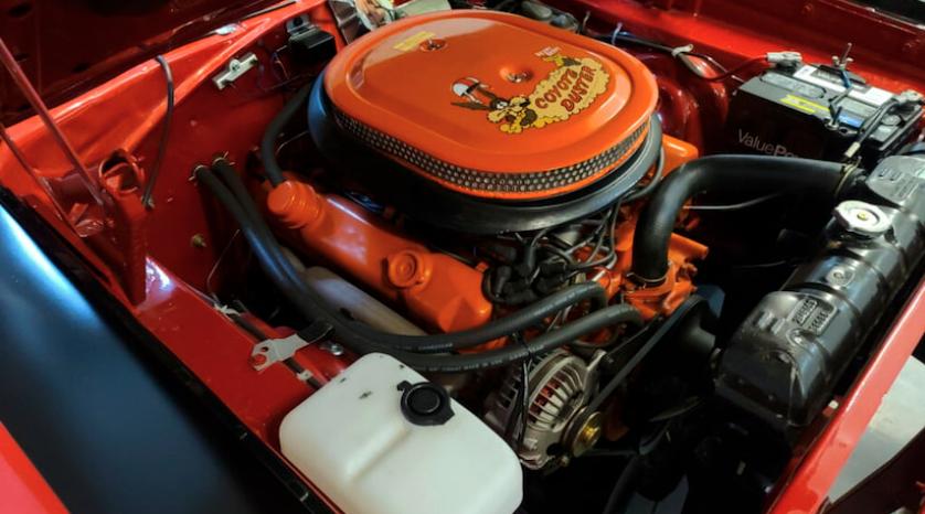 1969 Plymouth GTX engine