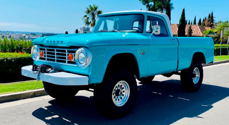 1967 Dodge D100 Power Wagon Pickup