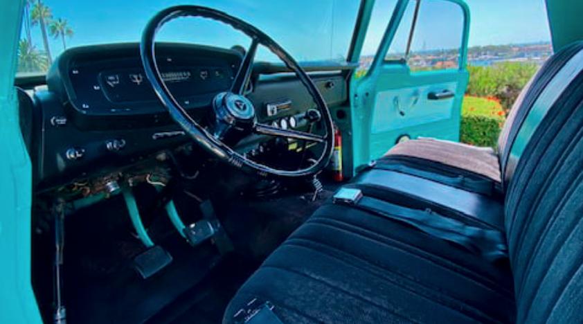 1967 Dodge D100 Power Wagon Pickup interior