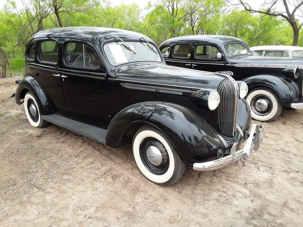 Vintage Mopar vehicle