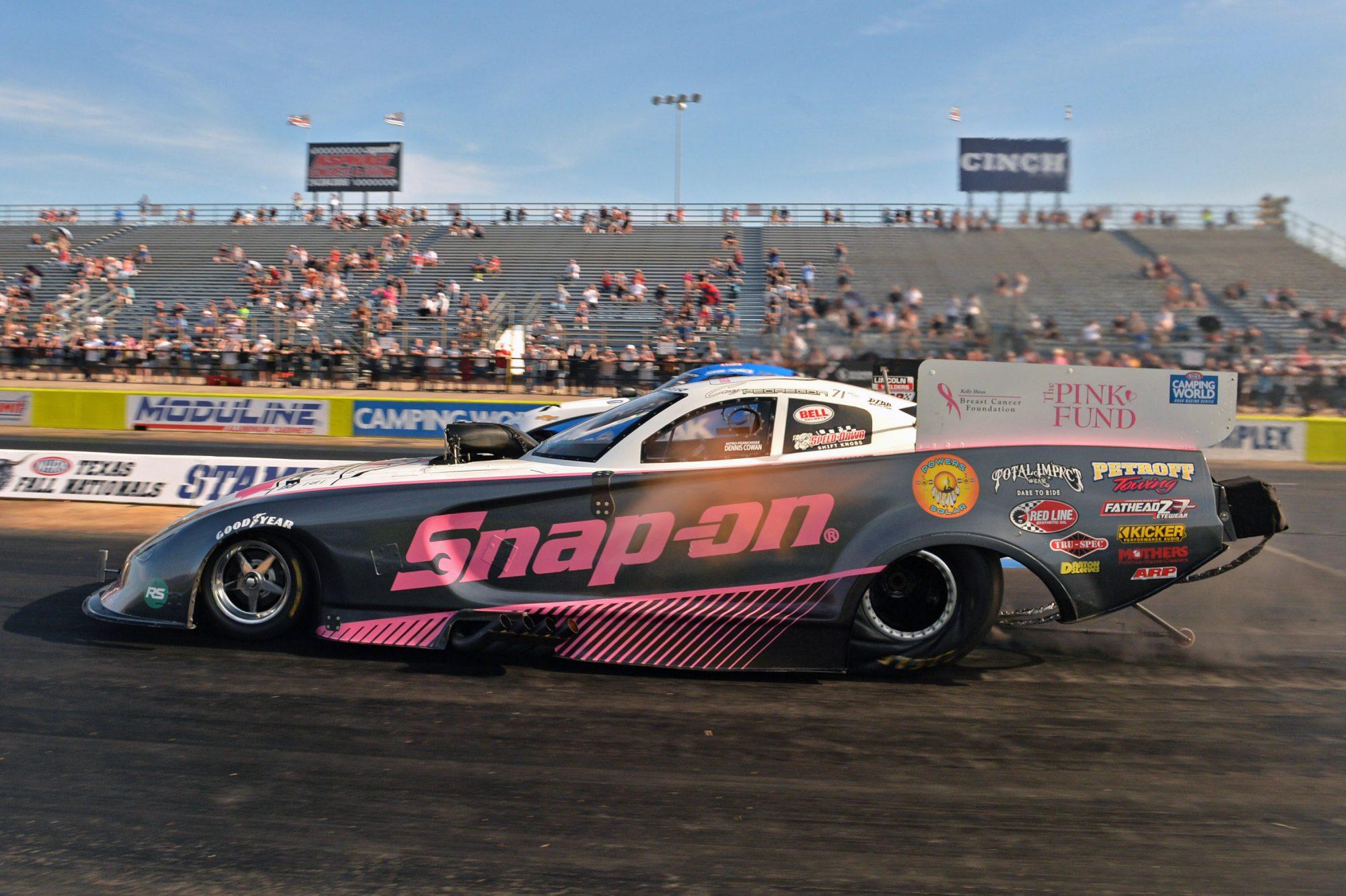Cruz Pedregon drag racing
